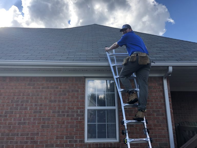 Buyer-Inspection-Murfreesboro-Going-Up-the-Ladder