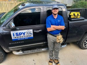 Brad Robinson of I Spy Inspections